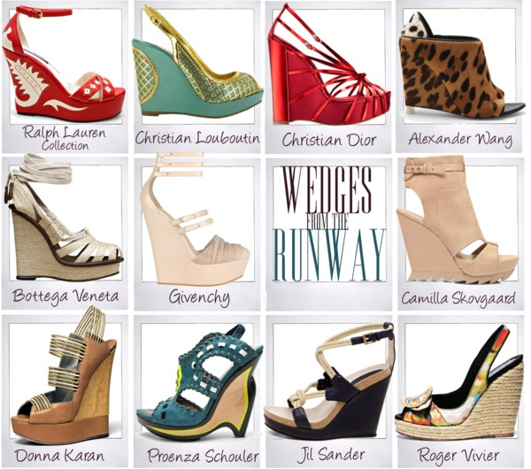 Wedges from the Runway