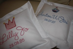 Personalized Baby Cushions