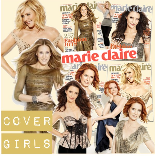 Sex Girls in New York Cover of Marie Claire
