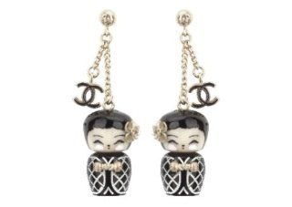 Chanel Doll Earrings