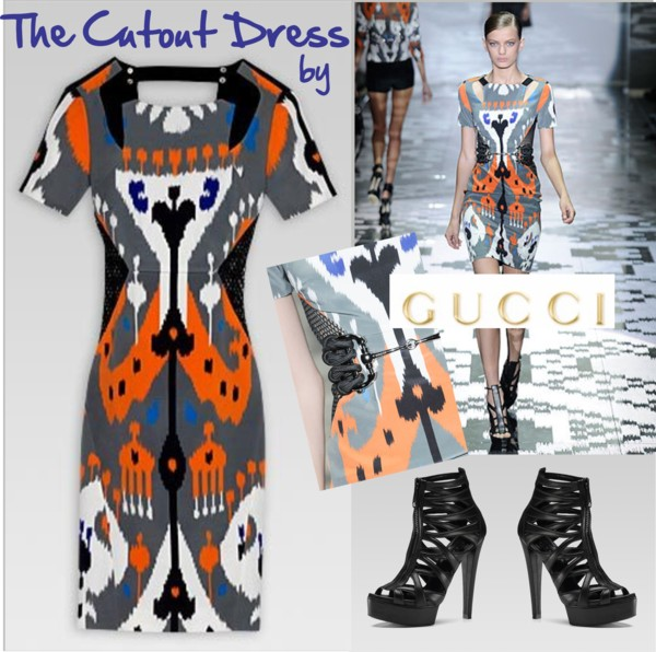 Cutout_DRess_gucci