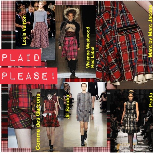 01668694b9 Fall patterns took a traditional turn with highland tartans and madras  checks. Plaid has continued its raison d`être as one of fashion`s favourite  fabrics ...