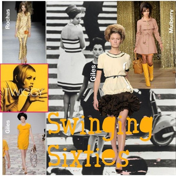 440bb2709128 The ballooning trapeze mini silhouettes that had Twiggy made so famous were  revived by Miuccia Prada ...