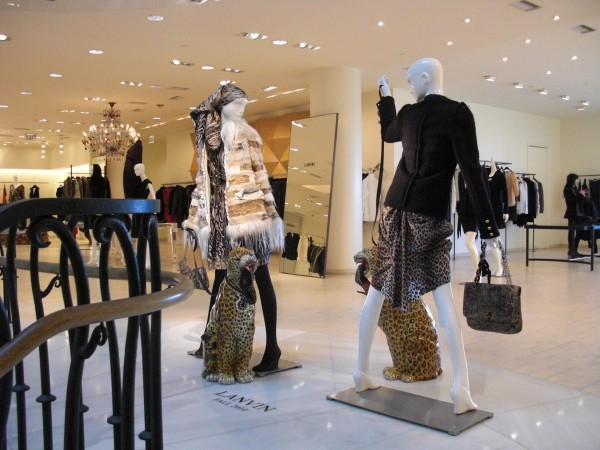 Barneys Los Angeles Lanvin Decoration