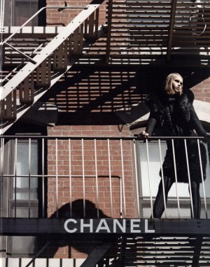 Chanel featuring Brad Kroenig, Abbey Lee Kershaw, Freja Beha Erichsen