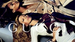 Gucci featuring Nikola Jovanovic, Joan Smalls, Raquel Zimmermann
