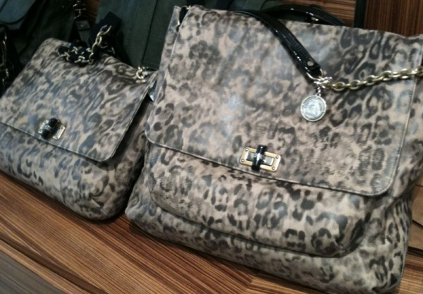 Medium and Large Happy LeopardPrint Shoulder Bag