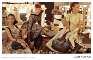 Louis Vuitton featuring Karen Elson, Christy Turlington, Natalia Vodianova