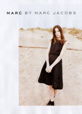 Marc by Marc Jacobs featuring Ruby Aldridge
