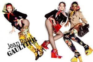 Jean Paul Gaultier featuring Kelly Moreira, Crystal Renn