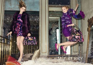 Mulberry featuring Abbey Lee Kershaw, Hanne Gaby Odiele