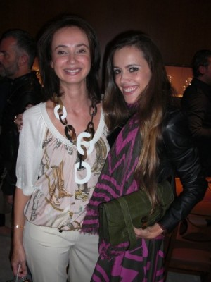 Sophie C. Anache-Strobel, store manager, with me