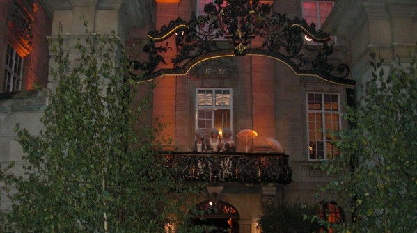The party continued in the beautifully decorated Zunfthaus zur Meisen.