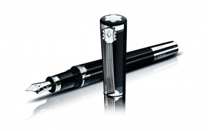 The Special Edition has a reminiscent design of early 60s music, fountain pen (CHF 1055.-).