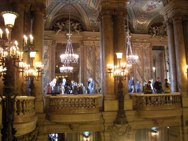 The beautiful location: Opéra national de Paris, Palais Garnier