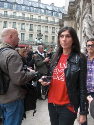 Paris Vogue's Emmanuelle Alt