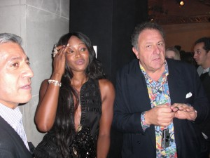 Naomi Campbell and Jean Pigozzi