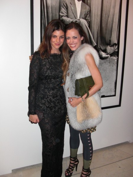 Style Icon and daughter of French Vogue's Carine Roitfeld, Julia Restoin-Roitfeld with me
