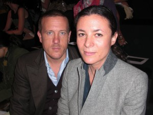 Famous blogger couple: Scott Schuman of The Sartorialist and Garance Doré