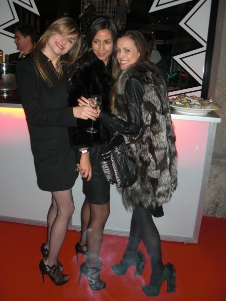 Daniela Karagi and Melanie Guenthardt, the two ladies behind Lovers Lane with me