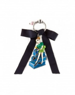 Miss Lanvin key chain, $185