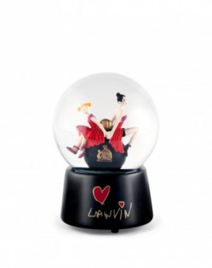 Mother and daughetr snowglobe, $225
