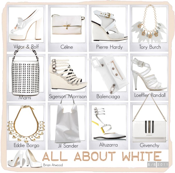 All about White SS2011