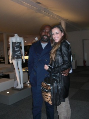 Duro Olowu with me