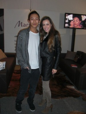 Alexander Wang with me