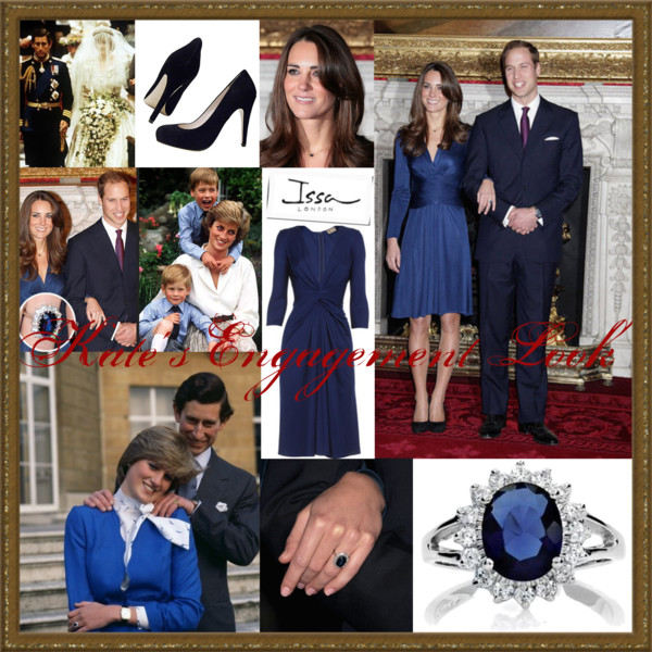 Kate'sEngagement Look