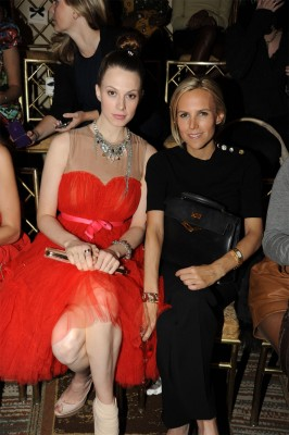 Elettra Wiedemann and Tory Burch