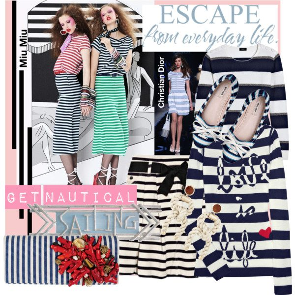 6f95ec241320 Pack for your trip to the Côte d  Azur with nautical stripes and take a  stroll along the beach in those classics. Cannes do!