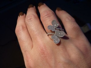 Ring Double Butterflies, € 1495