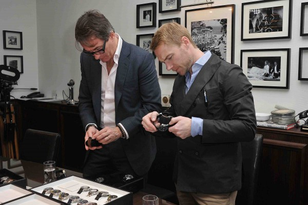 Tim Jeffries and Ronan Keating attend the IWC event.