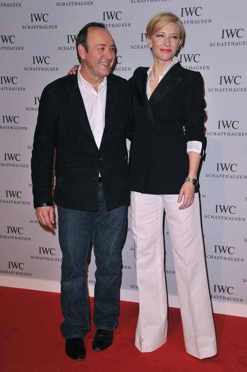 Hollywood in Geneva: Kevin Spacey with Cate Blanchett