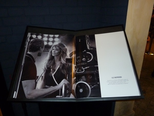 ...and the beautiful photo book by Peter Lindbergh.