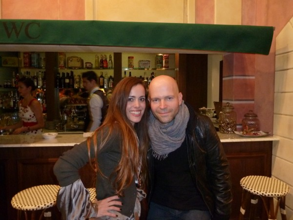 Director of 007 Quantum of Solace Marc Forster with me.