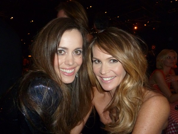 Elle Macpherson with me.