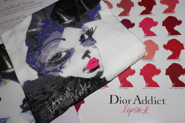 My gift from Dior: The gorgeous limited T-Shirt...