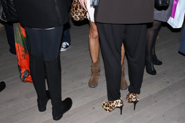 London Fashion Week shoe trend