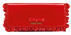 Miu Miu Wallet red, CHF 470