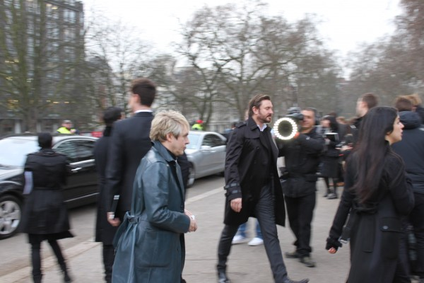 Duran Duran arrives: Nick Rhodes & Simon Le Bon