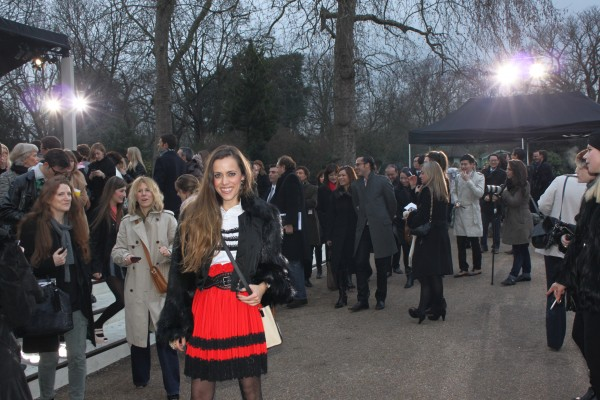 Me at Burberry Prorsum