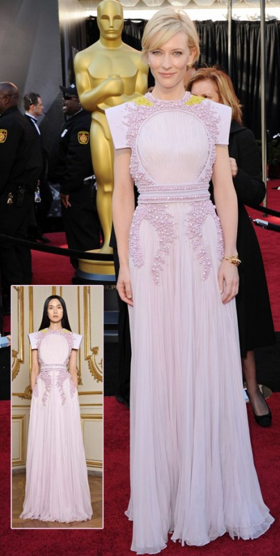My favourite dress last night: Cate Blanchett in Givenchy Haute Couture S/S 2011
