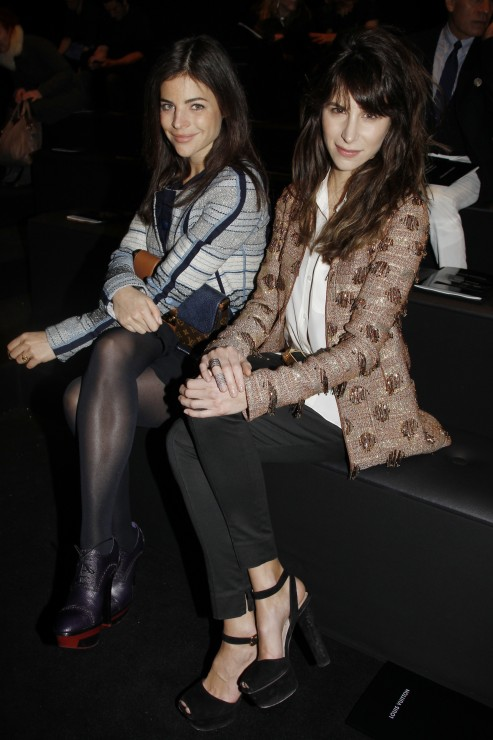 Girlfriends Julia Restoin-Roitfeld and Carolin Sieber