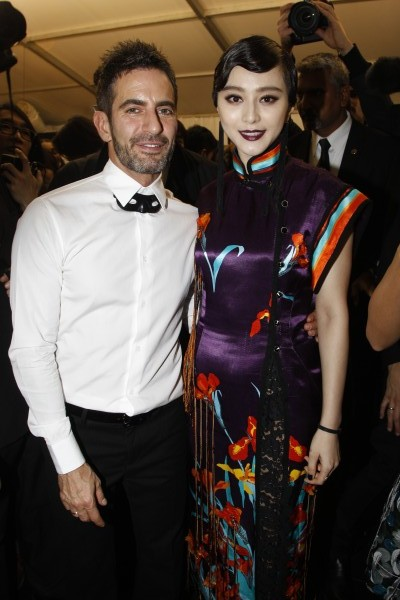 Marc Jacobs with Fan Bing Bing