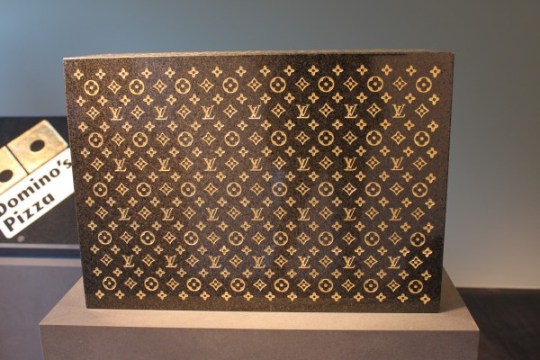 Untitled (LV), Marble and gold, 2011