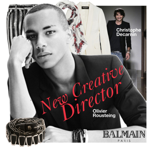 Balmain's new creative e director