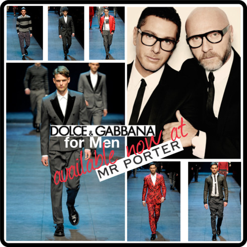 Dolce Men at Mr porter