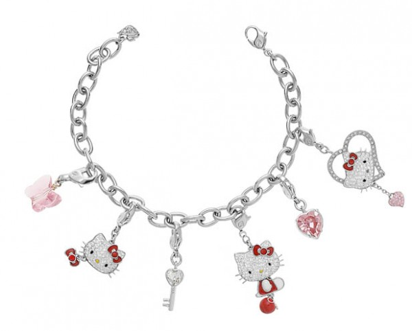 HELLO_KITTY_Charms_bracelet